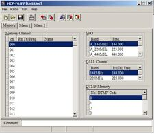 KENWOOD MCP-F6/F7 Program Software for TH-F6, TH-AF7A, TH-F7E
