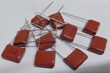 10 x Panasonic ECQE2105KF 1uf 250V polyester film capacitors