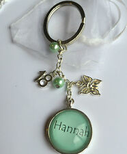 PERSONALISED keyring special age birthday any name 13th16th 18th 21st present