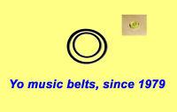 2 belts set for SANSUI P-L40 P-L41 P-L50 P-L60 Turntable tonearm 2 belts +Bubble