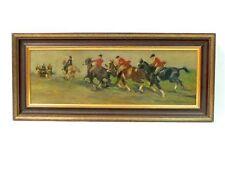Künstlerische Malereien mit Pferde-Motiv als Original der Zeit von 1950-1999