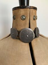 VTG Christian Dior Shield Silver Choker Maasai John Galliano Trotter Necklace