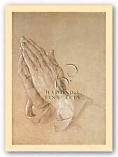 MUSEUM ART PRINT Praying Hands Albrecht Durer Yellow