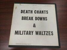 John Fahey - Death Chants, Break Downs & Military Waltzes (LP, Album, Mono) G+