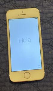 Apple iPhone 5s - 16GB - Gold (Verizon) A1533 unlocked good condition
