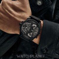 DIESEL Original DZ7396 Men's MR. DADDY 2.0 Black Dial Chronograph GMT Watch