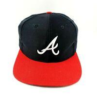 90s Vtg Atlanta Braves Snapback Trucker Hat Baseball Cap Winn Dixie Coca Cola