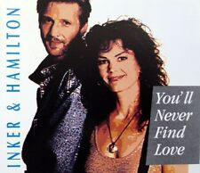 Inker & Hamilton ‎Maxi CD You'll Never Find Love - Germany (EX/EX)