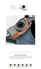 Ciesta Fabric Sand Yellow Wrist Strap Twisy for Camera Smartphone Nintendo PSP