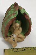 Franklin Mint Safari Surprises Lion 1988 Figure 2 Pc With Lion And Den