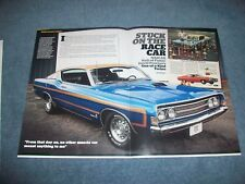 "David Pearson's 1969 Ford Torino Cobra GT Article ""Stick on the Race Car"""