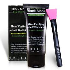 SHILLS Peel Off Mask, Blackhead Remover Mask, Charcoal Mask, And Brush Kit. NIB.