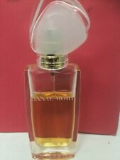 Hanae Mori Eau de Parfum Spray for Women1 oz 30 ml No Box 75% full
