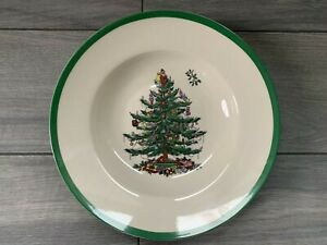 "SPODE CHRISTMAS TREE 9"" SOUP BOWL, XT0210-XS, NWT $59"