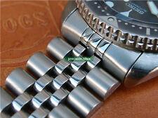 Solid Steel Replacement Jubilee Bracelet Double Lock Buckle For Scuba SKX009