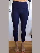 Lululemon Size 6 All the Right Places Crop II NWT DEIN Blue Pant Luxtreme Run