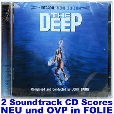 The Deep - John Barry - Intrada Doppel CD NEU und OVP in FOLIE