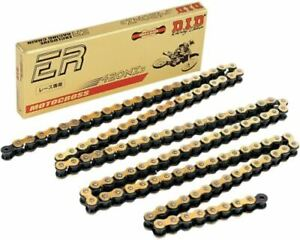 DID 420 NZ3 HIGH PERFORMANCE GOLD MOTORCYCLE MX CHAIN 130 LINKS INC SPLIT LINK