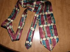 Bravini Men's 100% Silk Neck Tie Made In USA