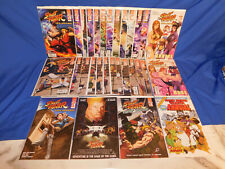 Street Fighter Unlimited 1-12 + Annual Complete A & B Cover Comic Lot Set Udon
