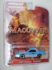 GREENLIGHT HOLLYWOOD SERIES 17-MACGYVER *1987 PONTIAC FIREBIRD* PHOENIX #99 NEW!