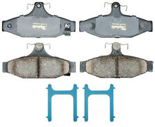 Disc Brake Pad Set-Ceramic Disc Brake Pad Rear ACDelco Pro Brakes 17D413CHF1