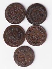 Nassau 5 x 1/4 Kreuzer 1817-1822 nsw-leipzig