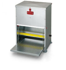 NEW River Systems Fully Galvanised 12Kg Poultry Treadle Feeder