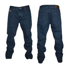 Kam Forge Straight Leg Jeans Indigo Blue BIG Waist 40-72 inch, Leg 27-34 inch