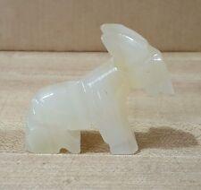 "Donkey / Burro ~ Soapstone Figurine 2.25"""