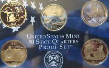 1999-P+D /</> 2008-P+D COMPLETE 100 COIN STATE QUARTER SETS WITH ENVELOPES /& COA/'S