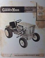 Montgomery ward marca trator para cortar grama jardim leme montgomery wards garden mark lawn tractor mower owner parts manual mw gilson fandeluxe Images