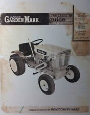 Montgomery Wards Garden Mark Lawn Tractor & Mower Owner & Parts Manual MW Gilson