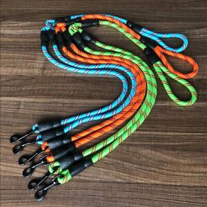 Nylon Rope Slip Pet Double Head Lead Leash Traction Rope Two Dogs Walk Splitter