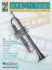 Movie & TV Themes: Play-Along Solos FOR TRUMPET Hal Leonard