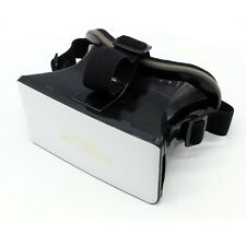 NEW White Virtual Reality VR Box Headset 3D Video Glasses for iPhone Smartphones