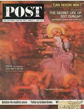 Saturday Evening Post March 7 1964 Paris Lido Picasso Jack Dunlap Spy Panama