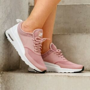 Nike Air Max Thea Pink White UK Size 6.5 599409 614