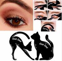 Eyeliner Vorlage Schmink Schablone Cat Line Augen Make Up Schablonen Black Cat