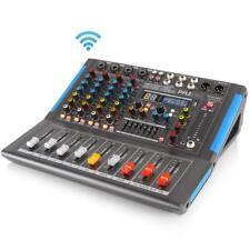 Pyle PMXU46BT Bluetooth 4 Ch. Studio DJ Controller Audio Mixer Console System