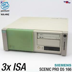 3x Isa Slot SIEMENS Nixdorf SCENIC Pro D5 Computer PC RS-232 Parallel Ag D969 Ok