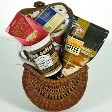 Coffee, Coffee, Coffee Gift Basket W/ COFFEE, Mug, Candy, Pot Holders  XMAS GIFT