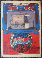 WESTERN FRONT GRAND OPENING - BIG BROTHER Fillmore-Era Greg Irons Concert Poster