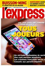 L'EXPRESS n°3460*31/10/2017*JEUX VIDEO*HARCÈLEMENT gd écoles*MACRON=Minc&Buisson