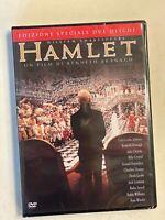 HAMLET 1996 RARO 2 DVD sigillato - BRANAGH CRYSTAL DEPARDIEU LEMMON WINSLET