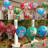 Santa Claus Elk Hot Air Balloon Paper Lantern Lampshade Ceiling Light Xmas Decor
