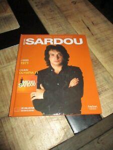 Michel sardou-Cd collector,11 succès-Année 71+livre -Collection officielle