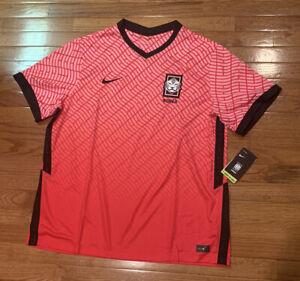 Nike Men's Korea 2020 Stadium Home Soccer Jersey CQ9168-653 2XL XXL NWT $90