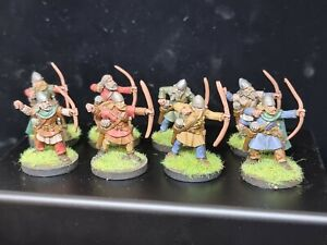 Wargames Foundry Painted Viking Archers x 8 Saga Swordpoint