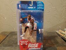 DERRICK ROSE McFarlane Series 17 Chicago Bulls NBA #d out of 100 WHITE JERSEY